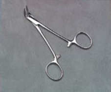 Silver Point Forceps Grooved Tip Ea