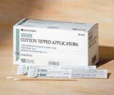 Cotton Tipped Applicator Sterile 6″ 100Pks/2