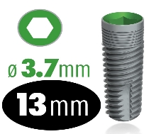 Infinity Internal Hex Implant 3.7mm x 13mm