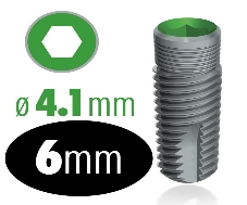 Infinity Internal Hex Implant 4.1mm x 6mm