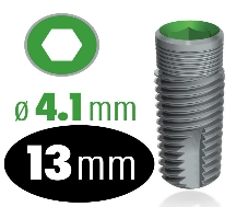 Infinity Internal Hex Implant 4.1mm x 13mm