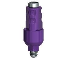 Infinity Internal Hex 4.5mm Closed Tray Impression Coping w/retaining screw, 5.5mm collar width
