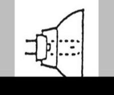 Economy Curing Light Bulb 75w12v Ea