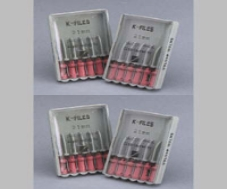 K-Files 25 mm Size 10 6/Box