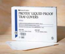 Tray Cover Poly Coated 9″x13.5″ 500/Bx