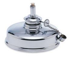 Alcohol Lamp Metal #12 5 Oz