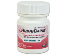 Hurricaine Topical Gel Watermelon 1oz/Jr