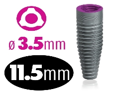 Infinity TRI-CAM Implant 3.5mm x 11.5mm