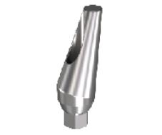 Angled Titanium Abutment-25 (Narrow)