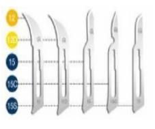 Surgeon Blades Carbon Steel #15C 10/Bx