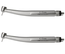 C-Type Push-Button Handpiece 4-Hole Ea