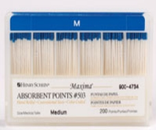 Maxima Absorbent Points Size 503 Medium 200/Box