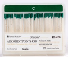 Maxima Absorbent Points Size 503 Coarse 200/Box