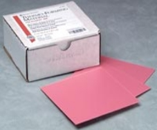 Thermo-Forming Sheets Pink 5 in x 5 in 0.060 in 25/Package