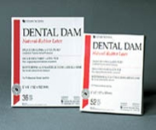 Dental Dam 5 x 5 Green Medium 52/Box