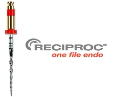 RECIPROC® Instruments – Blister of 4 Instruments – R25 – 25 MM